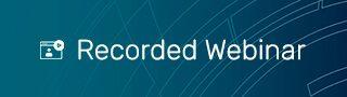 Recorded Webinar Banner